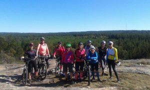 Women's MTB Ride Passchendaele