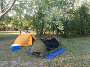 Campsite at Elsey NP