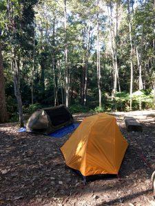 2 single tents