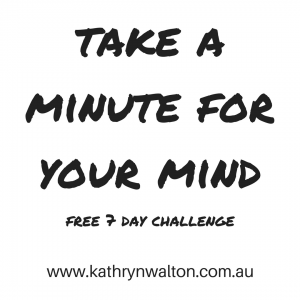 Take a Minute for Your Mind Logo