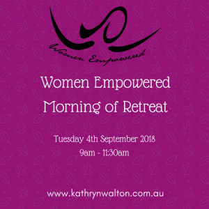 Women Empowered Morning of Retreat