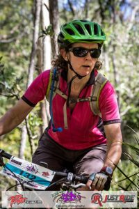 Mindful concentration while mountain biking