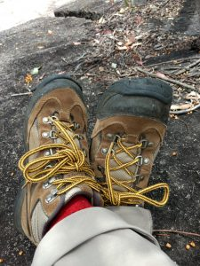 bushwalking boots