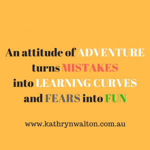 an attitude of adventure is life changing