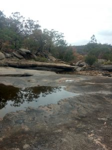 Rocky expanse of Girraween National Park