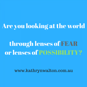 fear and possibility