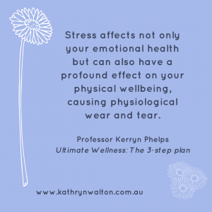 stress less for better health