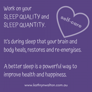 self-care sleep