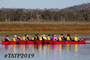 The Adventure Therapy Project canoeing
