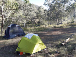 The Adventure Therapy Project camping