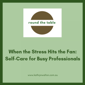 Stress Hits the Fan