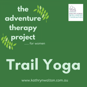 trail / outdoors yoga