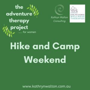 hike and camp weekend