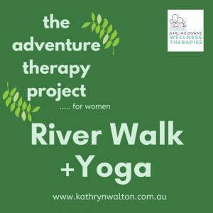 river walk + yoga