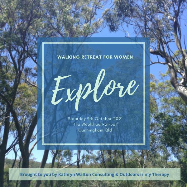 explore walking retreat for women