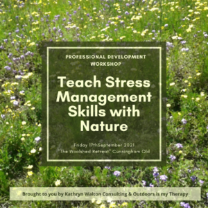 teach stress management skills with nature