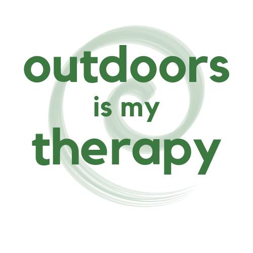 outdoors is my therapy